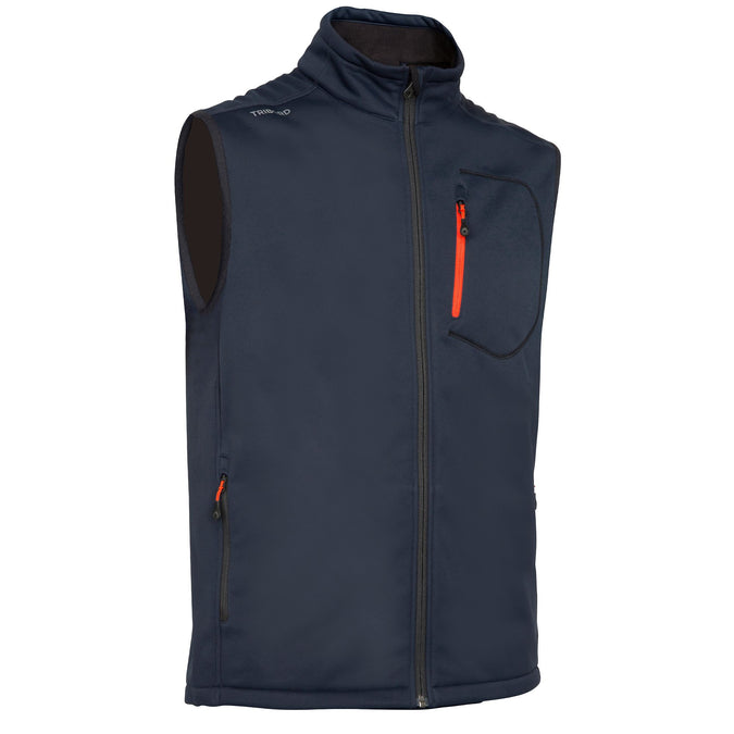 Men's Sail Racing Sleeveless Softshell Vest,midnight blue, photo 1 of 12