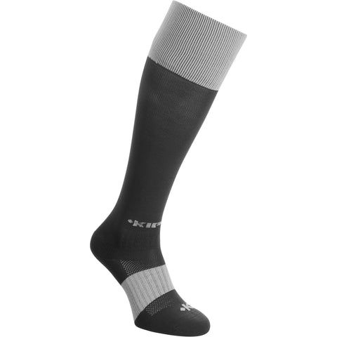 Rugby Knee-Length Socks Full H500,scarlet red