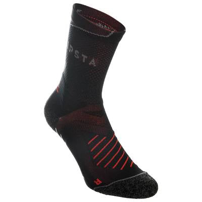 Rugby Mid-Ankle Non-Slip Socks R500,