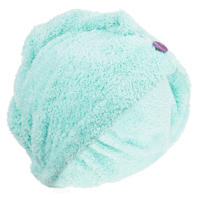 Microfiber Hair Towel Soft,aqua, photo 1 of 5