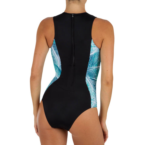 a307c585a2118 Women's One Piece Swimsuit with Full Coverage and a Back Zip Carla Bondi