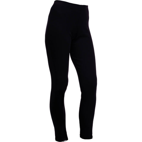 Women's Ski Base Layer Simple Warm Long-Johns,black
