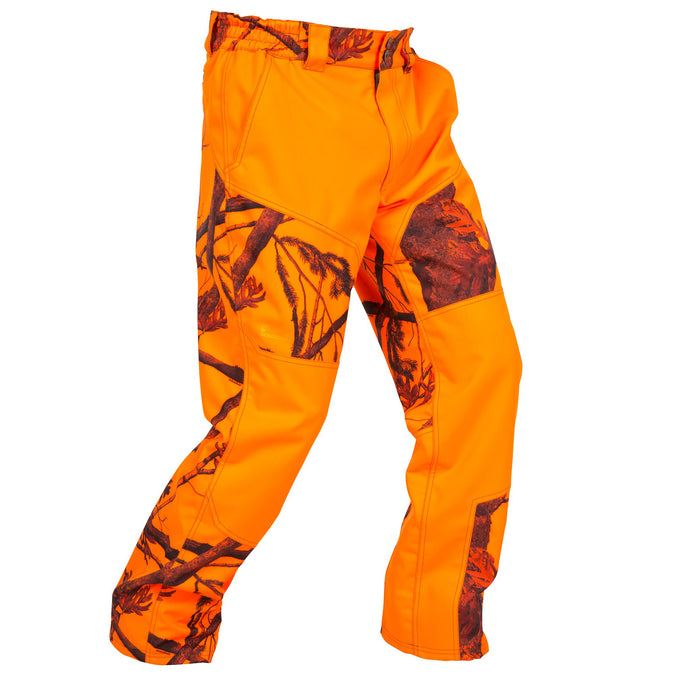 Men's Hunting Supertrack Pants 300,neon orange, photo 1 of 17