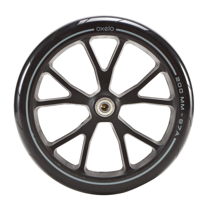 Adult Scooter Wheel - 200 mm Town EF,black, photo 1 of 3