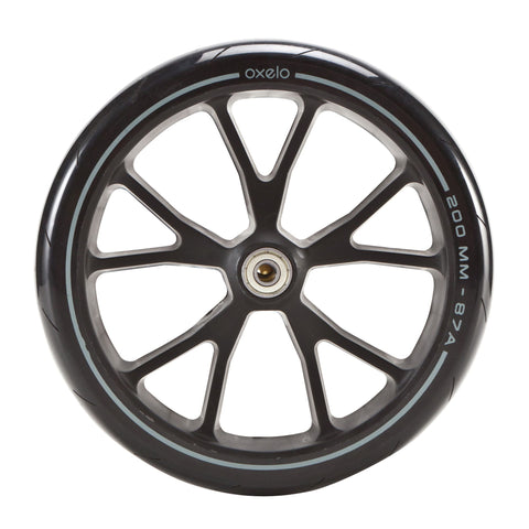 Adult Scooter Wheel - 200 mm Town EF,black