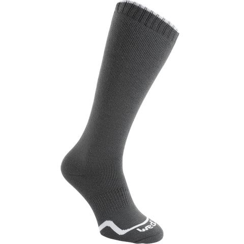 Ski Socks First Heat,charcoal gray