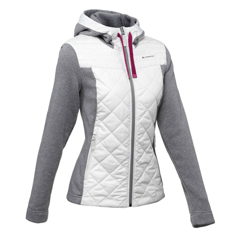 Women's Nature Hiking Hybrid Pullover NH500,