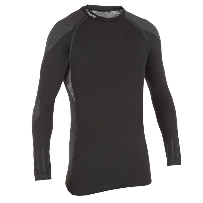 Men's Sail Racing Base Layer Top,carbon gray, photo 1 of 8