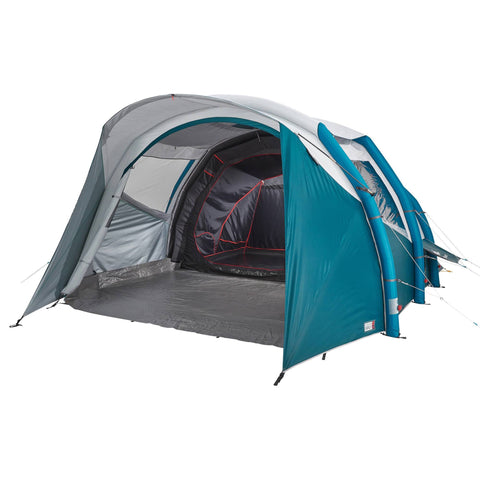 Air Seconds Fresh Black 52 Inflatable Camping Tent 5 Person 2 Bedroom