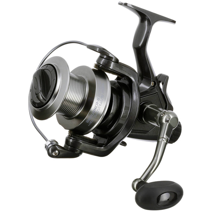 Carp Fishing Long Distance Baitrunner Reel Bigrunner-5 5000 LC,olive green, photo 1 of 13