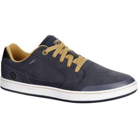 Adult Skateboarding Low-Rise Shoes Crush Low V2,navy blue