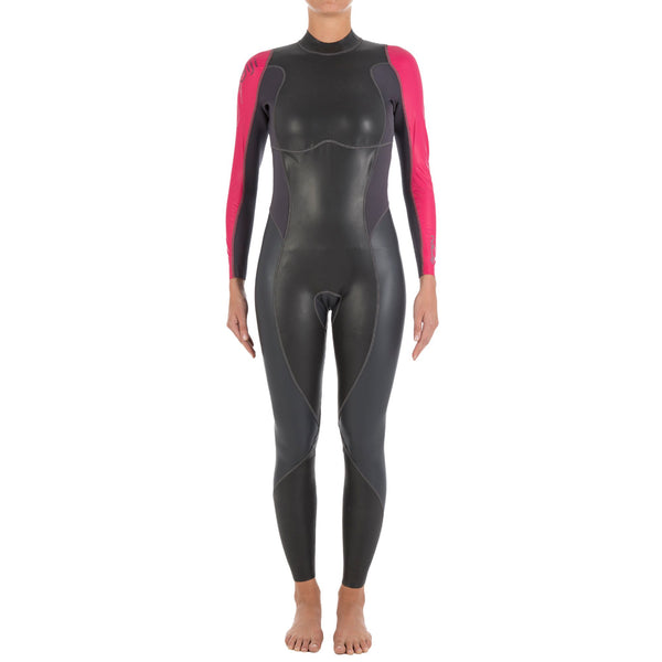 Amino Z Team Womens Weight Lifting Bodybuilding Gym: Women's Open Temperate Water Neoprene Swimsuit