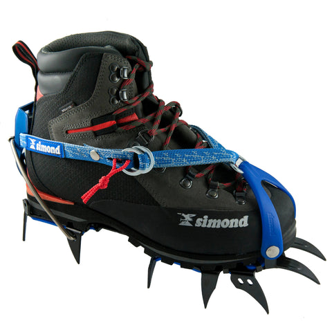 Mountaineering Semi Step-In Crampons Makalu,blue