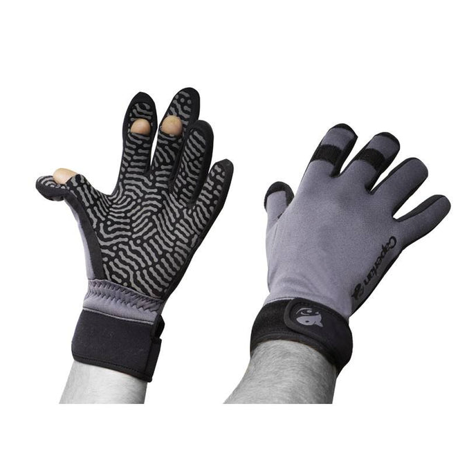 Fishing Neoprene Gloves Azuel,dark gray, photo 1 of 3