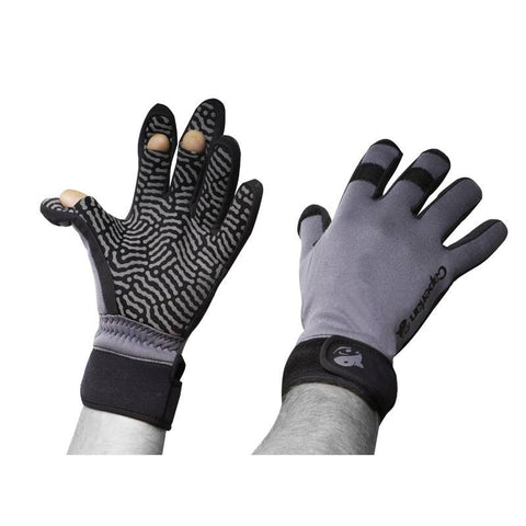 Fishing Neoprene Gloves Azuel,dark gray