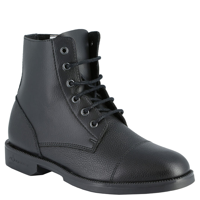 Horse Riding Lace-Up Jodhpur Boots Classic,black, photo 1 of 9