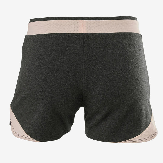 official price luxuriant in design greatvarieties Girls' Gym Shorts Breathable Cotton 500