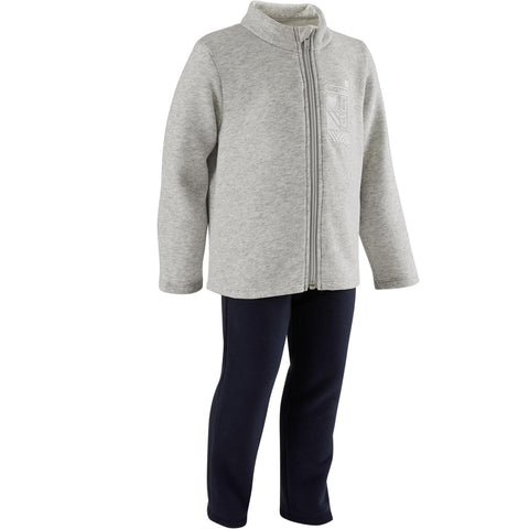 Baby Gym Tracksuit Warm'y Zip 100,