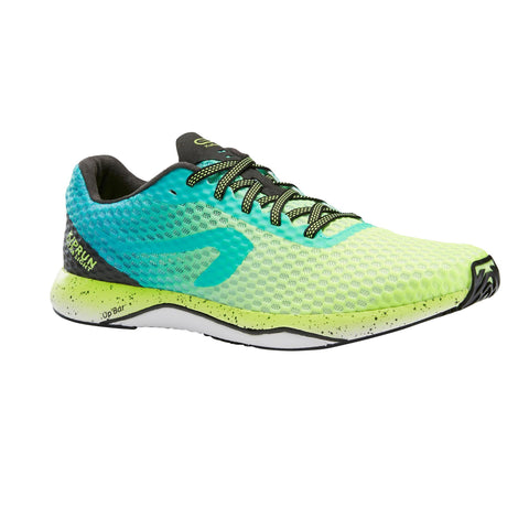 Men's Running Shoes Ultralight Kiprun,neon lemon lime