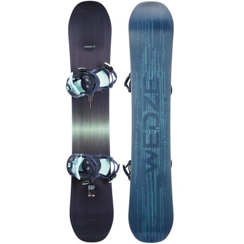 Wedze Serenity 500, Snowboard with Bindings, Adult,