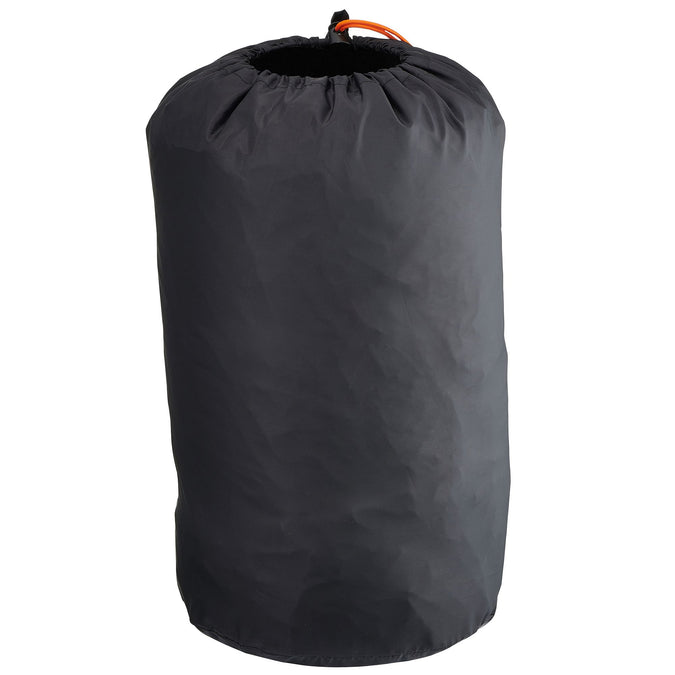 Quechua, Carry Bag for Sleeping Bags and Camping Mattresses,carbon gray, photo 1 of 4