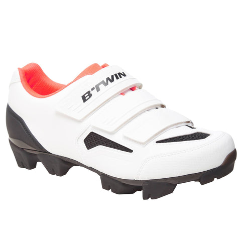 Women's Mountain Bike Shoes 500,snowy white