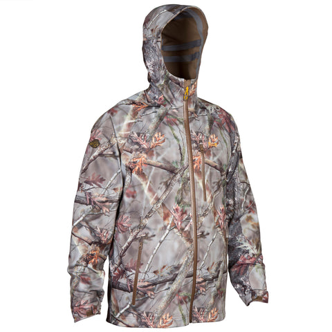 Hunting Light Waterproof Jacket Actikam 500,camouflage