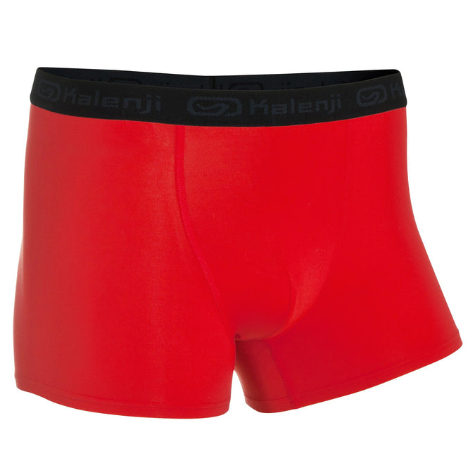 Men's Running Breathable Boxer Briefs,scarlet red, photo 1 of 7