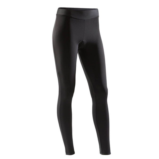 Women's Cycling Tights 100,black, photo 1 of 5
