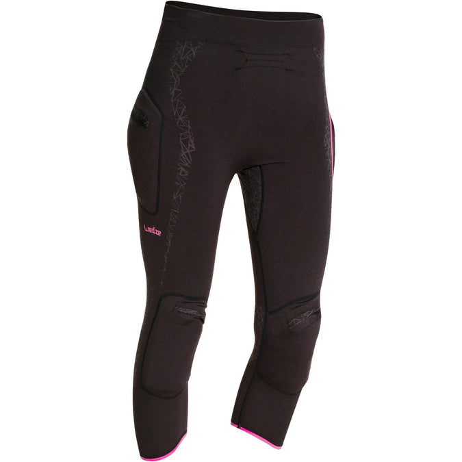 Women's Ski Base Layer Pants Myslim,black, photo 1 of 10