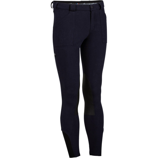 Horse Riding Warm Breeches Victor,blue, photo 1 of 24