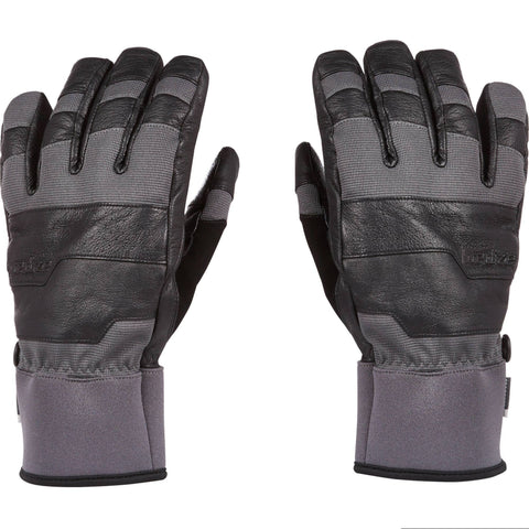 Snowboard and Ski Gloves SNB GL 900,charcoal gray
