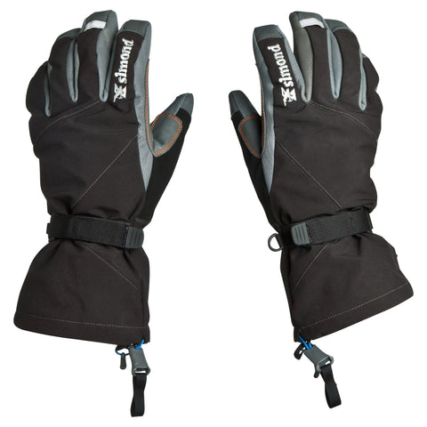 Mountaineering 2-in-1 Gloves,dark gray