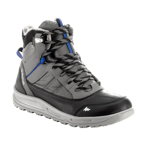 Men's Active Warm and Waterproof Snow Hiking Boots SH100,