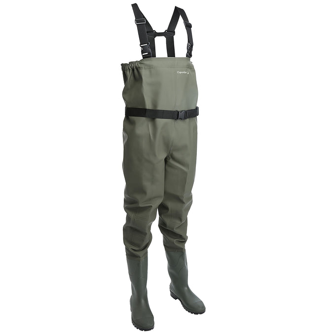 Fishing PVC Waders Start,khaki, photo 1 of 22
