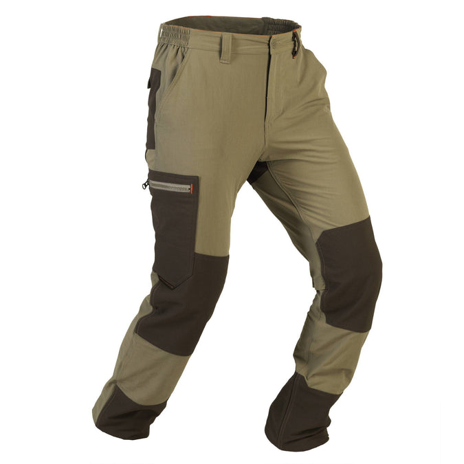 Men's Hunting Lightweight Breathable Durable Pants 900,khaki, photo 1 of 13