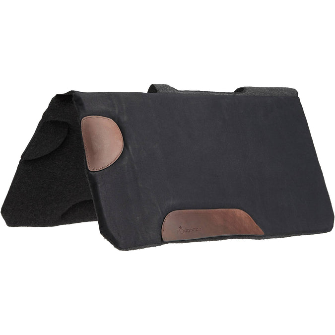 Horse Riding Hacking Saddle Cloth for Horse Escape,black, photo 1 of 9