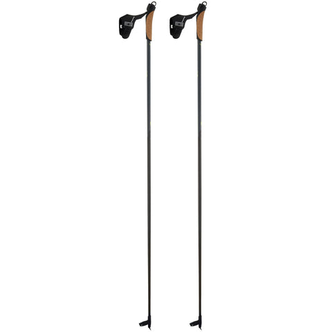 Cross-Country Skiing Performance Poles Nordic 700,black