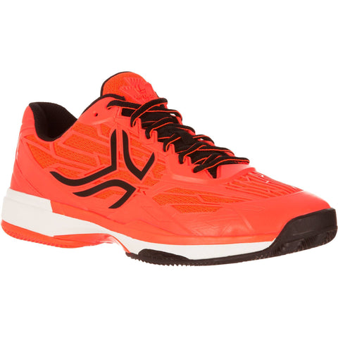 Men's Tennis Shoes TS990 Clay,neon blood orange
