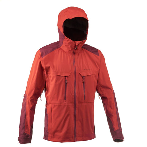 Men's Mountain Hiking Waterproof Rain Jacket Forclaz 900,