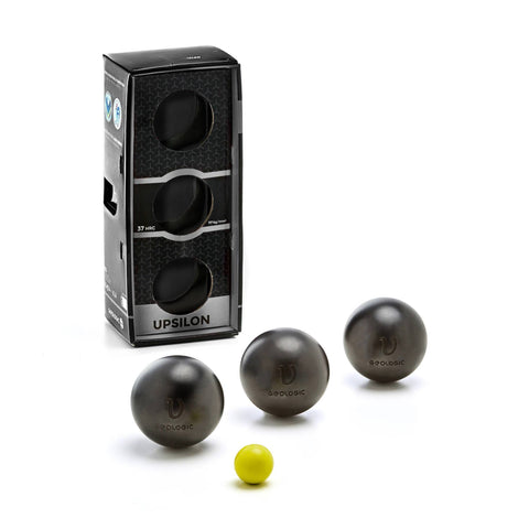 Pétanque Match Soft Boules UPSILON,black