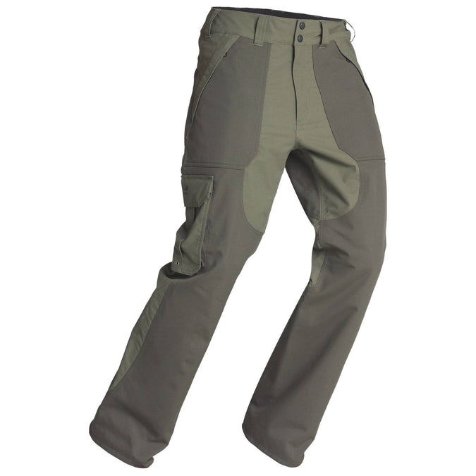 Men's Hunting Waterproof Pants Inverness 500,bronze, photo 1 of 10