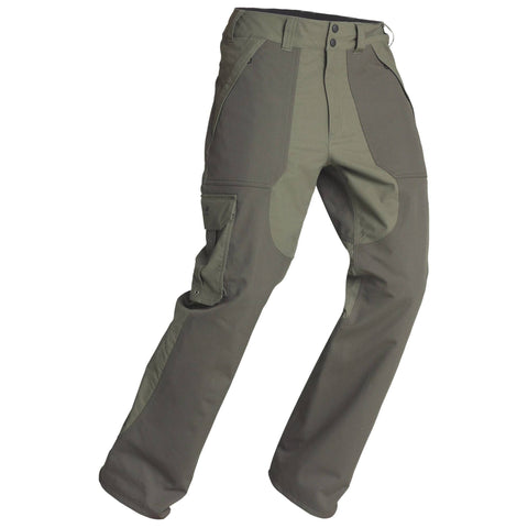 Men's Hunting Waterproof Pants Inverness 500,bronze
