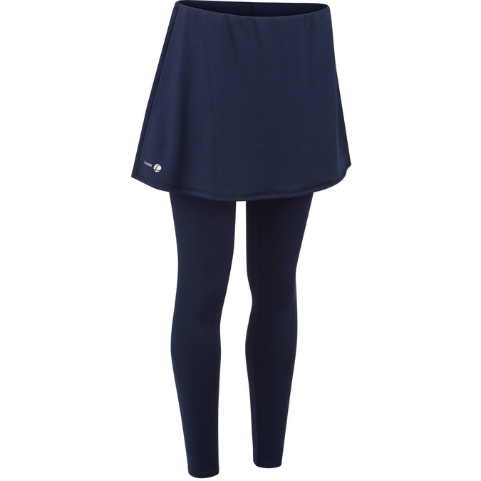 Artengo 500, Thermic Tennis Skirt, Women's,navy blue, photo 1 of 10