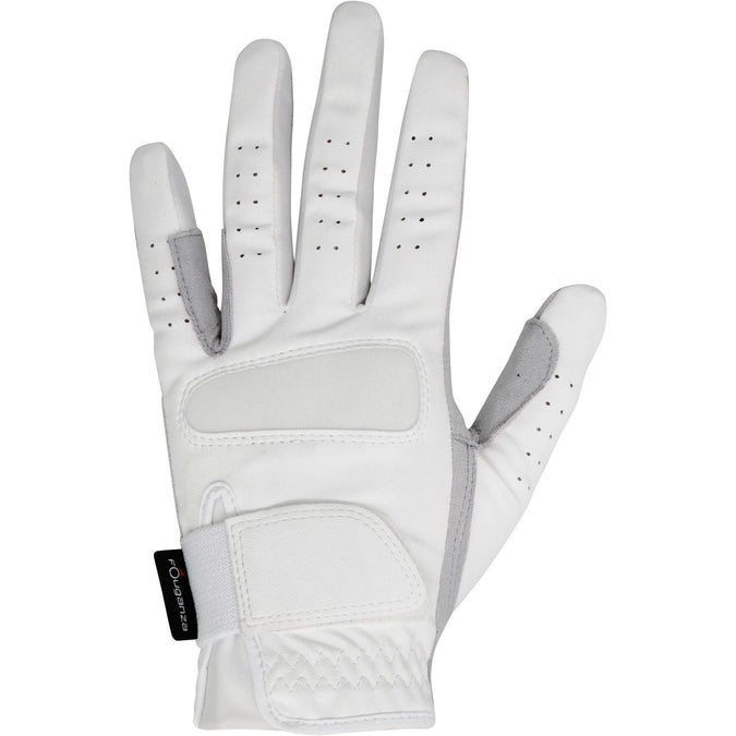 Women's Horseback Riding Grippy Gloves,snowy white, photo 1 of 10