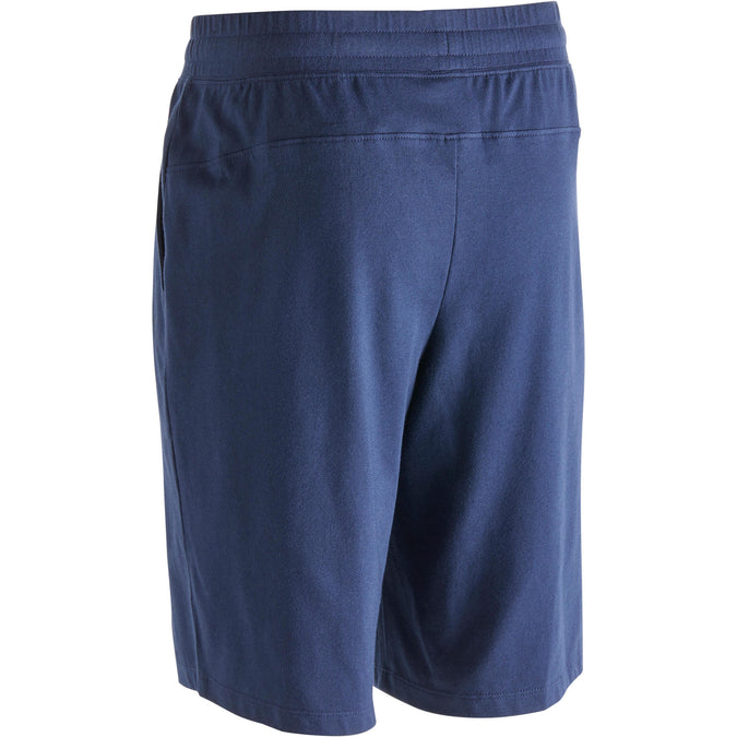 Pilates and Gentle Gym Regular-Fit Knee-Length Shorts 500,blue, photo 1 of 1