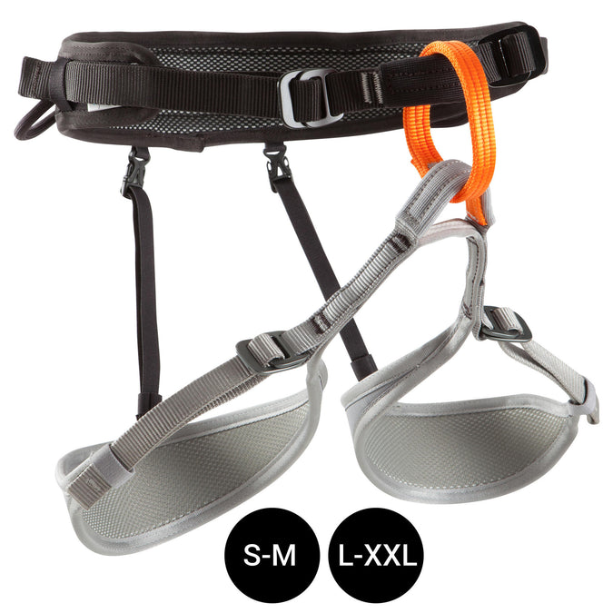 Climbing and Mountaineering Harness,black, photo 1 of 10