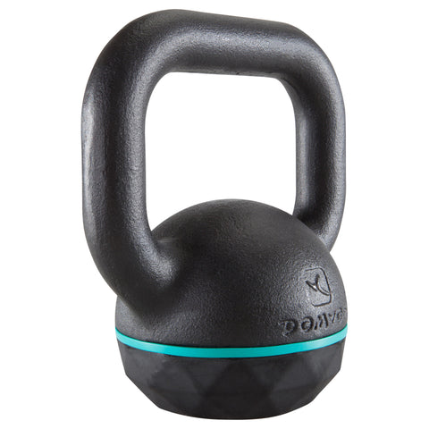 Domyos Weight Training Kettlebell, 13 lbs,black