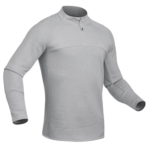Men's Skiing 2nd Layer 500,pearl gray