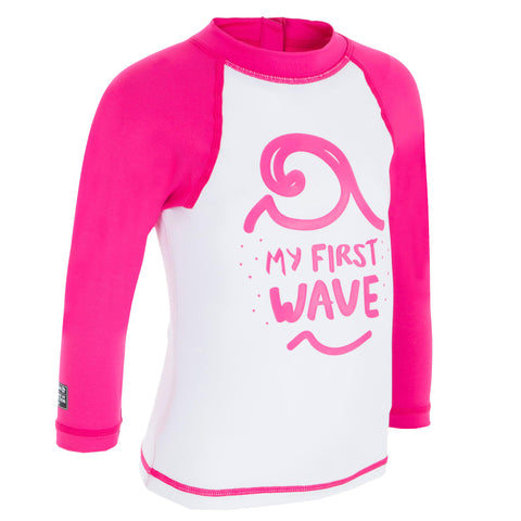 Baby's Surfing Top Long-Sleeved UV-Protection T-Shirt 100,